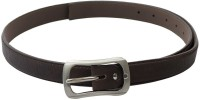SkyWays Women Casual, Semi-formal Brown Artificial Leather Belt (Brown-01)