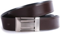 Bluth Men Formal Brown Artificial Leather Belt Brown