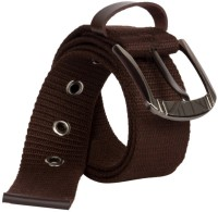 Aarip Boys, Girls, Men, Women Casual, Formal Brown Canvas Belt Brown-04