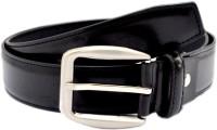 Pacific Gold Men Formal Black Artificial Leather Belt Black