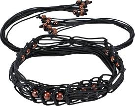 Jainsons Girls, Women Casual Black Fabric Belt