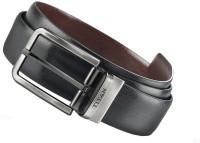 Titan Men Brown, Black Genuine Leather Reversible Belt Black And Brown