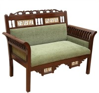ExclusiveLane Teak Wood Solid Wood 2 Seater (Finish Color - Walnut)
