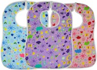 Wobbly Walk Baby Apron/Bib - Set Of 3 (Multicolor)