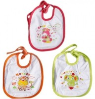 MyAngel Baby Bib With Waterproof Laminated (Multicolor)