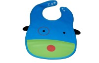Abracadabra Animal Bib With Pocket -Dog (Blue, Green)