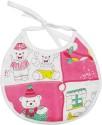 Wonderkids Teddy Print Baby Foam Bib - Pink - BIBEFMV6QJZHBQ8R