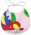 Wonderkids Crab Print Baby Foam Bib - Pink
