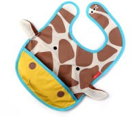 Baby Oodles Cloth Bib With Pocket Cow (Yellow)