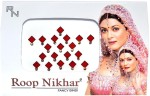 Roop Nikhar Bindis Roop Nikhar Fancy Cubic Crystal Vivah Collection Forehead Red Bindis