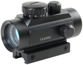 Zingalalaa 1x30RD Tactical Red Green Dot Sight Scope Riflescope