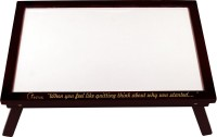 Radius In Coffee Brown White Board (20 Inch X 13.5 Inch)