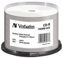 Verbatim CD Recordable Spindle 700 MB - Pack of 50