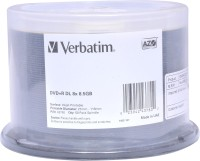 Verbatim DVD Recordable Spindle 8.5 GB (Pack Of 50)