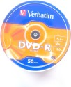 Verbatim DVD Recordable Spindle 4.7 GB - Pack Of 50 - ACCE2WFCVYH42HJ8