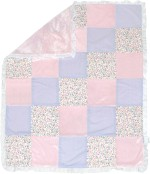 Abracadabra Couture Patchwork Baby Blanket Classic Spring