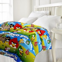 Rangasthali Cartoon Single Dohar Multi Colour One Single Bed AC (Dohar)