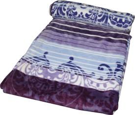 Gran Abstract Single Blanket Multicolor