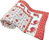 Artisan Creation Animal Single Quilts & Comforters Orange, White, 1 Single Quilt