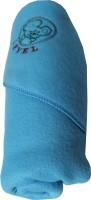 My NewBorn Cartoon Crib Hooded Baby Blanket Sky Blue (Fleece Blanket, ONE BLANKET)