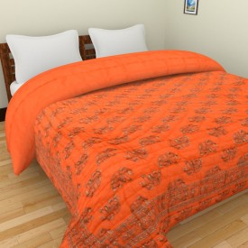 Spangle Printed Single Quilts & Comforters Multicolor