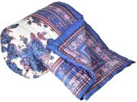 Indigocart Self Design Double Quilt Multicolor