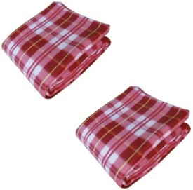 N decor Checkered Single Blanket multicolor
