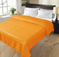 Christy's Collection Geometric Double Fleece Blanket Yellow