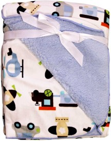 Carter's Cartoon Single Top Sheet Blue