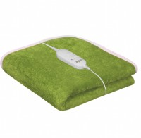 Warmland Plain Single Electric Blanket Green Electric Bed Warmer