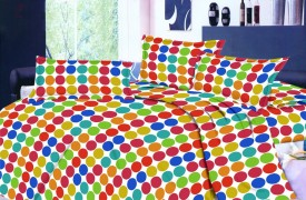 India Furnish Floral Double Quilts & Comforters Multicolor
