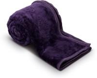 Fab Ferns Plain Double Blanket Purple Mink Blanket, Blanket - BLAEDQECVEQHYRXE