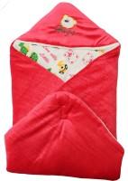 My NewBorn Cartoon Crib Hooded Baby Blanket Orange (1 Blanket)