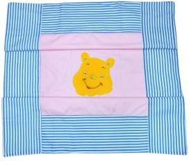 Portia Striped Crib Dohar Pink, Blue