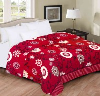 Home Originals Floral Double Blanket Multi Color Coral Blanket, 1 Blanket