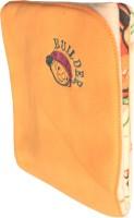 My NewBorn Cartoon Crib Hooded Baby Blanket Beige (Fleece Blanket, ONE BLANKET)