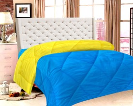 India Furnish Plain King Quilts & Comforters Multicolor