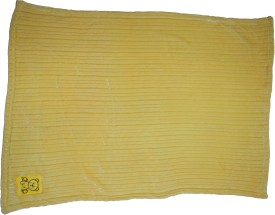 Belle Maison Animal Single Blanket Yellow
