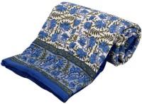 Krg Enterprises Floral Single Blanket Multicolor Jaipuri Quilt Single Bed Razai - BLAEDNYHJMSCYMRY