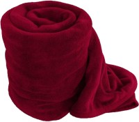 RS Quality Plain Single Quilts & Comforters Red 1 Plain Comforter