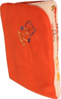 My NewBorn Cartoon Crib Hooded Baby Blanket Red (Fleece Blanket, ONE BLANKET)