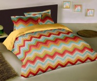 Raymond Abstract Double Quilts & Comforters Red Quilts