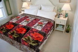 A Home's Grace Floral Double Dohar Multicolor