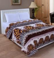Bed & Bath Floral, Paisley Double Dohar Silver,Brown,Black,Gold AC Dohar, Blanket
