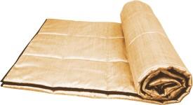 Zikrak Exim Geometric Single Quilts & Comforters Beige, Brown