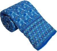 Little India Handblock Pure Cotton Double Bed Razai Quilt Modern Ethnic Quilt Double