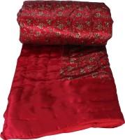 Jaipar Heritage Printed Double Quilts & Comforters WFJH1115QLT RED Micro Quilt, 1 Quilt