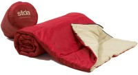 Stoa Paris Solid Single Comforter Red, Beige