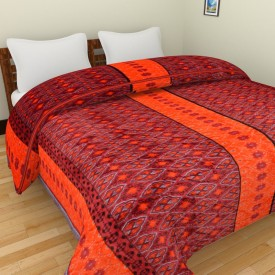Spangle Printed Double Blanket Multicolor