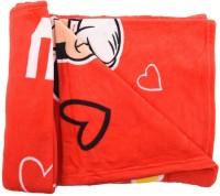 Baby Bucket Cartoon Crib Blanket Red Fleece Blanket, Blanket